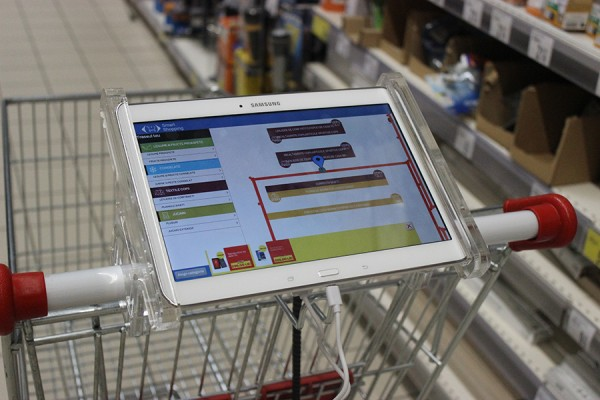 05 Shopping cart with tablet for Smart Shopping experience in Carrefour store 3