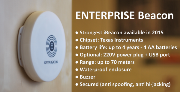 Enterprise Beacon - essential characteristics