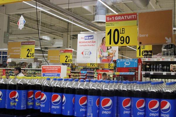 03 Onyx Beacon One, placed in a store department in Carrefour - general 01